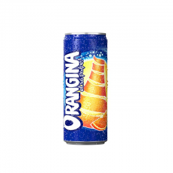 Orangina pack canettes 12x25cl