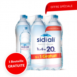 Sidi Ali pack 1Lx5+1 Gratuite