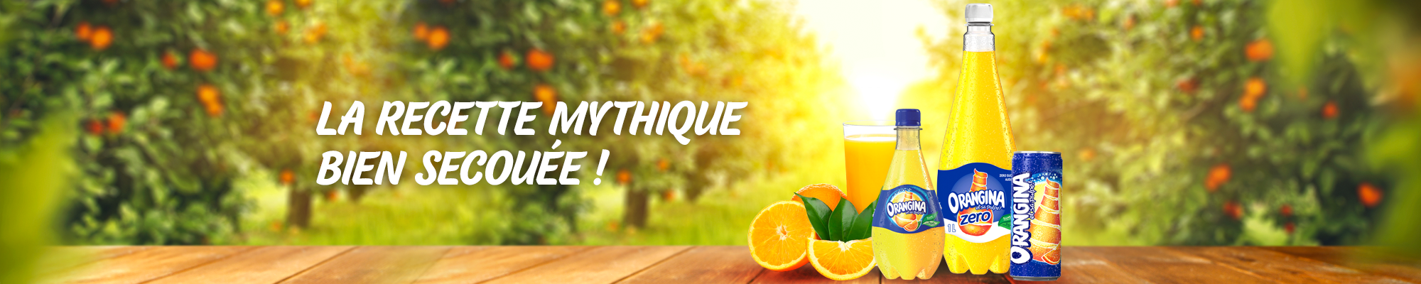 Orangina boisson gazeuse au goût orange unique. Livraison à domicile.
